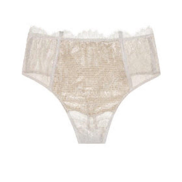 329d52cfe3 DREAM ANGELS Chantilly Lace High-waist Thong Panty